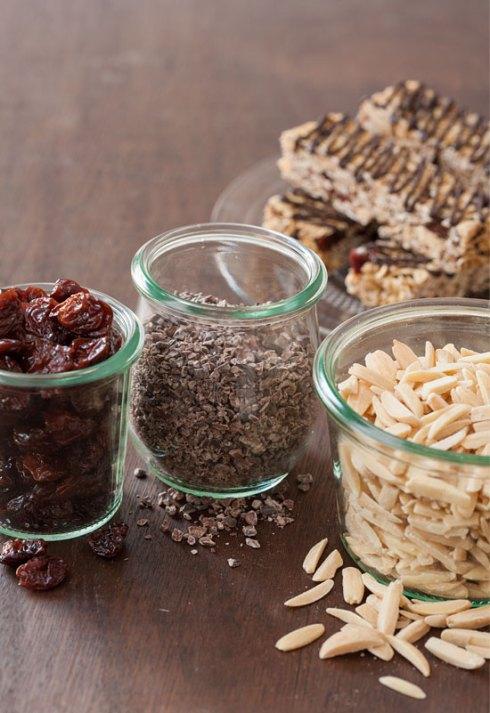 cherry-almond-granola-bars