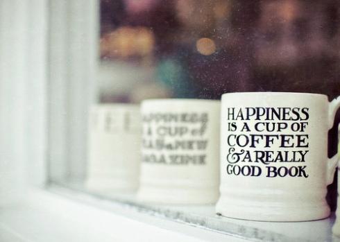 tazza book libro mug - inverno winter- non si dice piacere