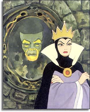 specchio - biancaneve snowhite - strega matrigna - mirror disney - non si dice piacere - bon ton buone maniere - galateo
