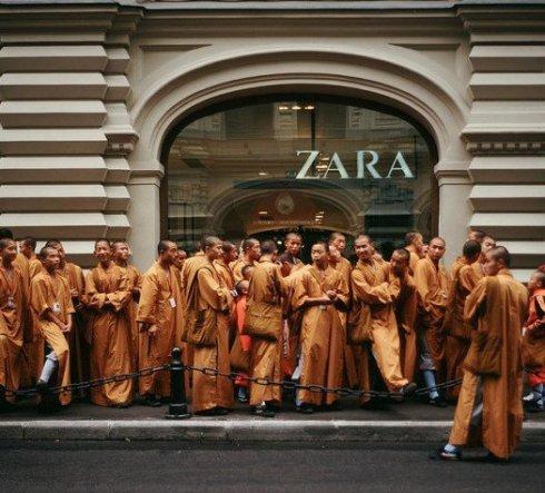 zara moda crisi low cost - non si dice piacere - bon ton buone maniere -galateo tibetani